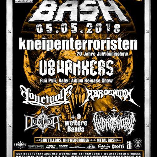 Metal Bash 2018, 05.05.2018, Neu Wulmstorf - Vorbericht