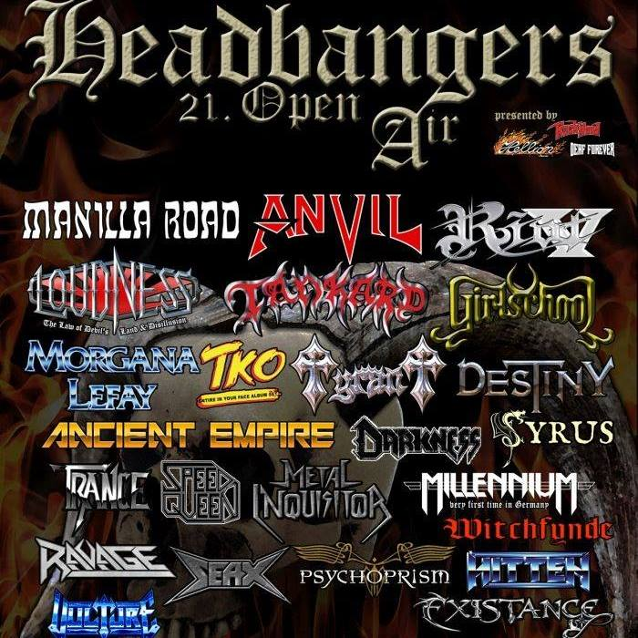 Headbangers Open Air 2018, 26.-28.07.2018, Brande-Hörnerkirchen – Vorbericht