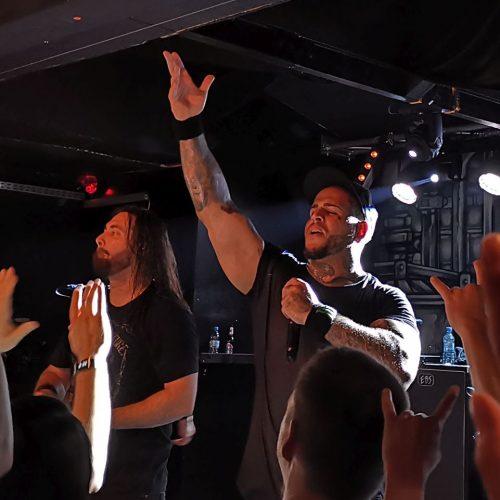 Bad Wolves, 10.06.2019, Headcrash Hamburg