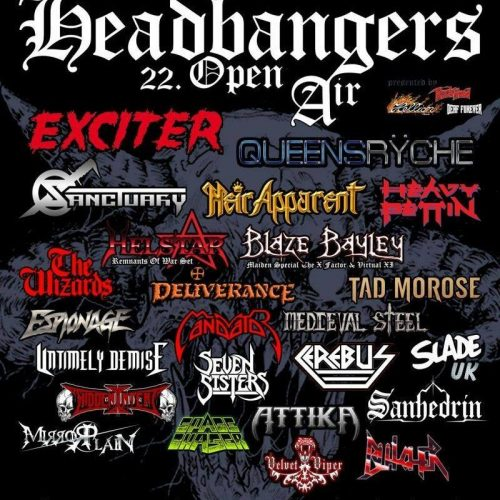 Headbangers Open Air, 25.-27.07.2019, Brande Hörnerkirchen - Vorbericht