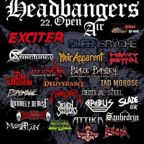Headbangers Open Air, 25.-27.07.2019, Brande Hörnerkirchen – Vorbericht