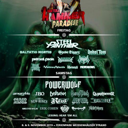 Metal Hammer Paradise, 08-09.11.2019, Weissenhäuser Strand - Vorbericht